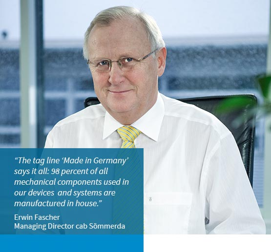 Erwin Fascher / Managing Director and Head of Production